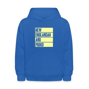 New Englandah And Proud - Kids' Hoodie