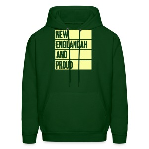 New Englandah And Proud - Men's Hoodie
