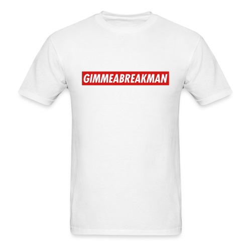 Gimmeabreakman - red label (Men's T-Shirt) - Men's T-Shirt
