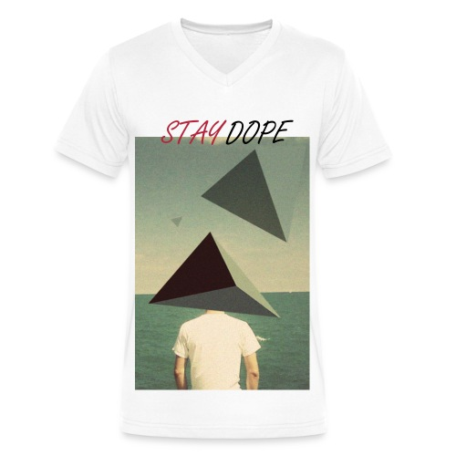 high in the Pyramids - Men's V-Neck T-Shirt by Canvas