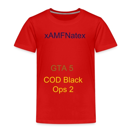 xAMFNatex T-Shirt (Mens) - Toddler Premium T-Shirt
