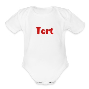 Tort baby one piece | The Lawyer Mommy - Short Sleeve Baby Bodysuit