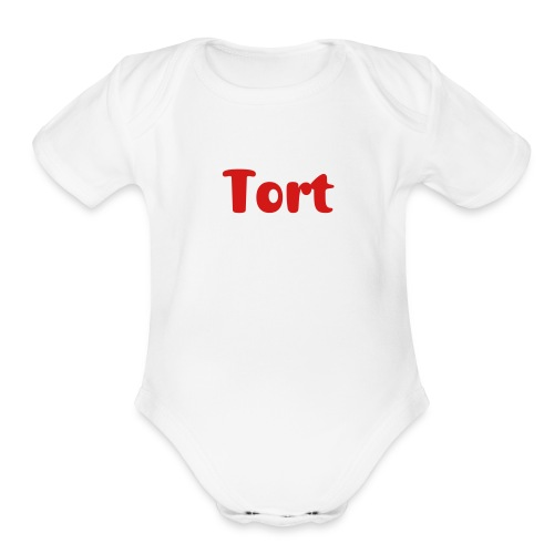 Tort baby one piece | The Lawyer Mommy - Organic Short Sleeve Baby Bodysuit