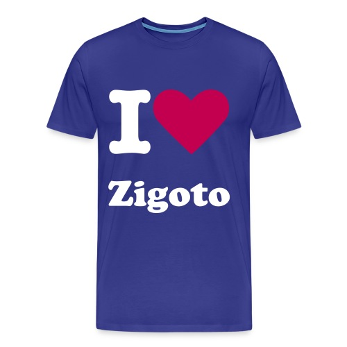I HEART ZIGOTO MENS SHIRT - Men's Premium T-Shirt