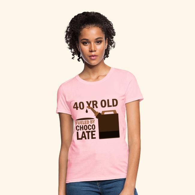 40th Birthday Funny 40 Year Old Womens Tshirt