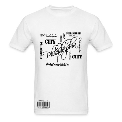 Made in Philadelphia T-Shirt - Men's T-Shirt