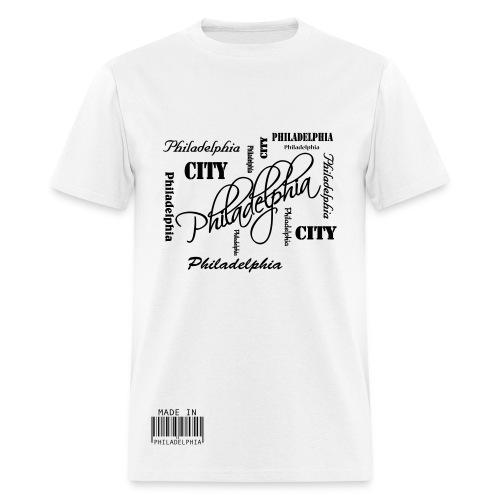 Made in Philadelphia T-Shirt - Men's T-Shirt