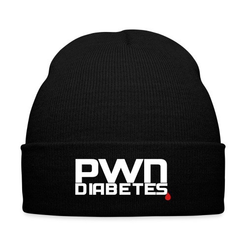 PWN Diabetes - Knit Cap with Cuff Print