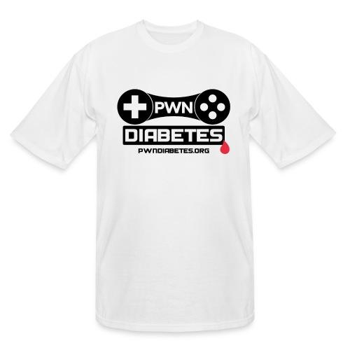 PWN Diabetes [Logo]               - Men's Tall T-Shirt