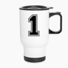 the number_1_n31 Bottles & Mugs