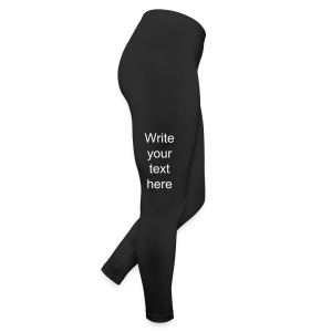 choose your color add text - Leggings