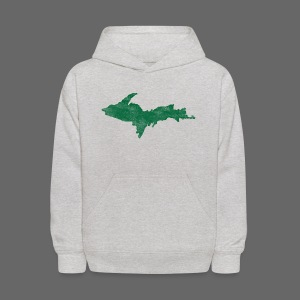 Distressed Upper Peninsula  - Kids' Hoodie