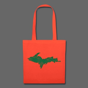Distressed Upper Peninsula  - Tote Bag