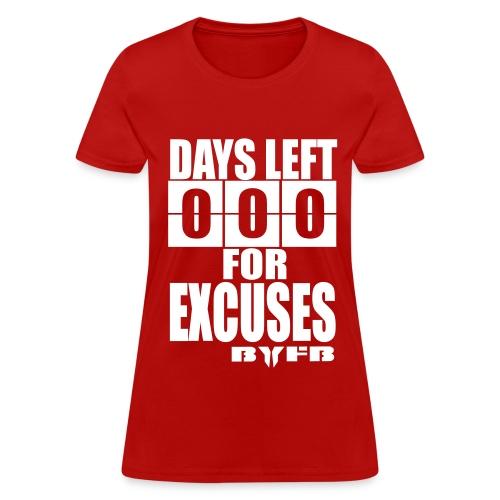 Women's Zero Days T-Shirt - Women's T-Shirt