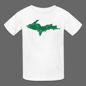 Distressed Upper Peninsula  - Kids' T-Shirt