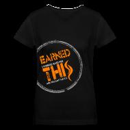 Women's T-Shirts ~ Women's V-Neck T-Shirt ~ Earned this (women's V)
