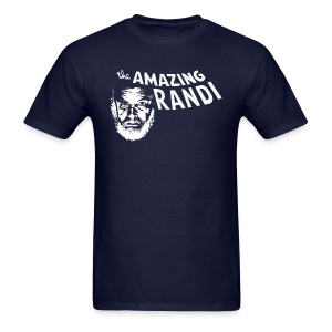 the Amazing Randi by Tai's Tees - Men's T-Shirt