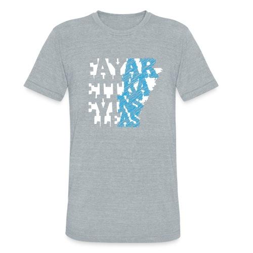 FayAR - Triblend Vintage - Unisex Tri-Blend T-Shirt