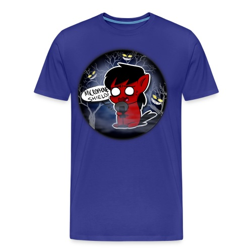 Microphone Shield! T-Shirt Men - Men's Premium T-Shirt