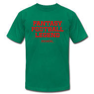 T-Shirts ~ Men's T-Shirt by American Apparel ~ Fantasy Football Legend