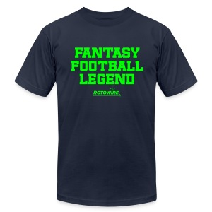 Fantasy Football Legend (Neon Green) - Men's T-Shirt by American Apparel