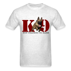 Not trained to bark  - Men's T-Shirt
