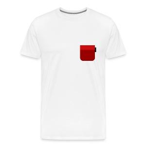 Red pocket - Men's Premium T-Shirt