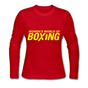Women's Long Sleeve Jersey T-Shirt - iPhone,iPad,Women's Tee Shirts,Women's T-Shirts,Personalized Tee Shirts,Personalized T-Shirts,Novelty T-Shirts,No Bully Zone,Gifts,Custom Made Tee Shirts,Custom Made T-Shirts,Case,Boxing Tee Shirts,Boxing T-Shirts