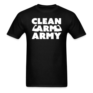 Men's Clean Arm Army - Men's T-Shirt