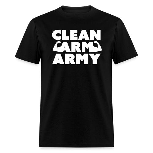 Men's Clean Arm Army - Men's T-Shirt