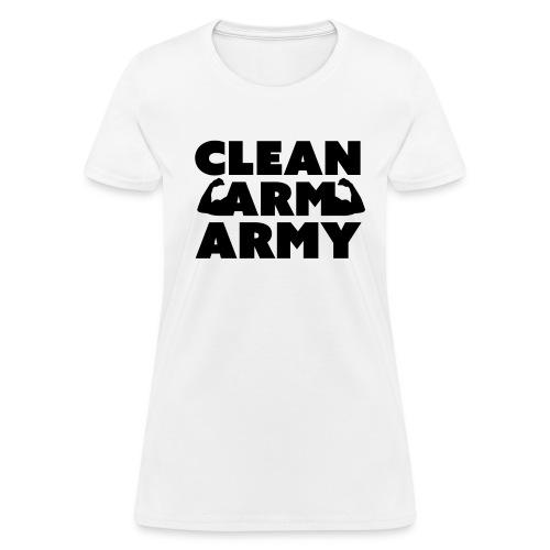 Women's Clean Arm Army - Women's T-Shirt