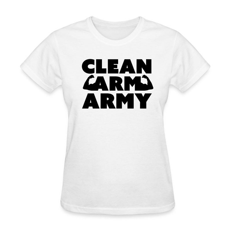 Women's Clean Arm Army - Women's T-Shirt