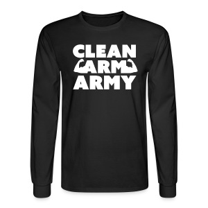 Men's Clean Arm Army Longsleeve - Men's Long Sleeve T-Shirt