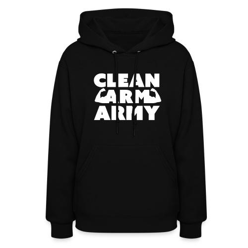 Women's Clean Arm Army Hoodie - Women's Hoodie