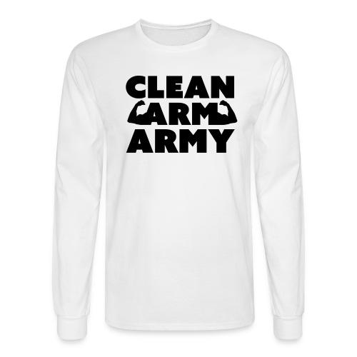 Men's Clean Arm Army Longsleeve - Men's Long Sleeve T-Shirt