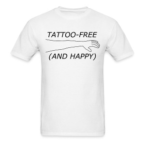 Men's Tattoo-Free - Men's T-Shirt