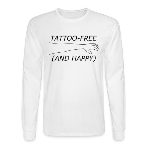 Men's Tattoo-Free Longsleeve - Men's Long Sleeve T-Shirt