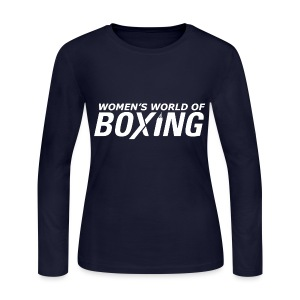 Women's Long Sleeve Jersey T-Shirt - Boxing T-Shirts,Boxing Tee Shirts,Case,Custom Made T-Shirts,Custom Made Tee Shirts,Gifts,No Bully Zone,Novelty T-Shirts,Personalized T-Shirts,Personalized Tee Shirts,Women's T-Shirts,Women's Tee Shirts,iPad,iPhone