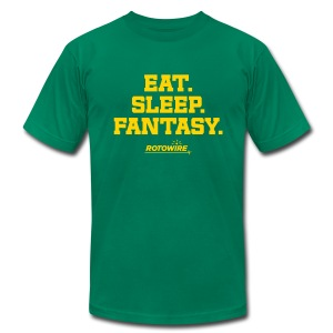 Eat. Sleep. Fantasy.  - Men's T-Shirt by American Apparel