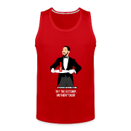 Tank Tops ~ Men's Premium Tank Top ~ Try The Ketchup! Tank Top