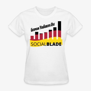 Social Blade German YouTuber Women's Shirt - Women's T-Shirt