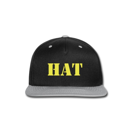 The Hat Hat - Snap-back Baseball Cap