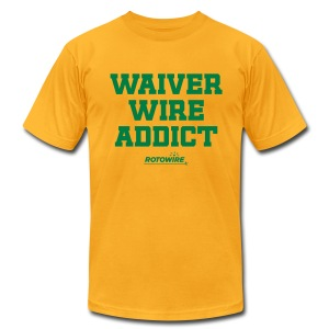 Waiver Wire Addict - Men's T-Shirt by American Apparel