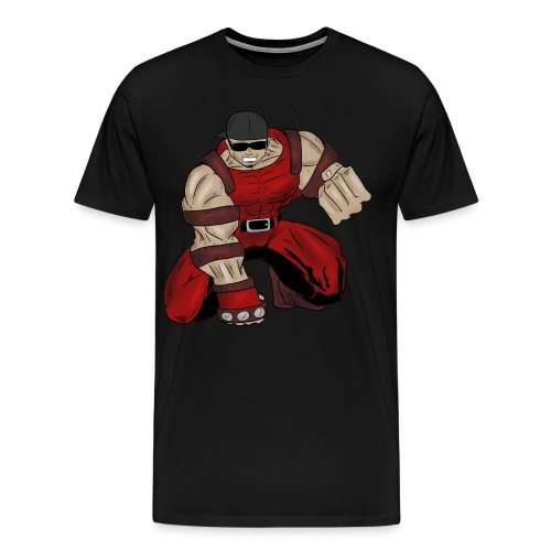 Jesse the Juggler Character - Men's Premium T-Shirt