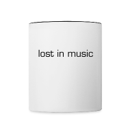 Mugs & Drinkware ~ Contrast Coffee Mug ~ lost in music mug