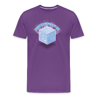 T-Shirts ~ Men's Premium T-Shirt ~ Floating Block of Ice Men's Heavyweight