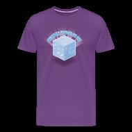 T-Shirts ~ Men's Premium T-Shirt ~ Floating Block of Ice Men's Heavyweight