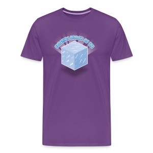 Floating Block of Ice Men's Heavyweight - Men's Premium T-Shirt