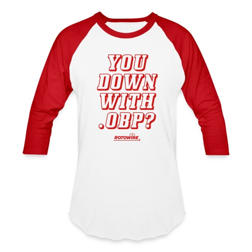 You Down with .OBP? - Baseball T-Shirt