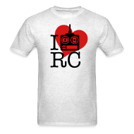 T-Shirts ~ Men's T-Shirt ~ I Love RC T-Shirt